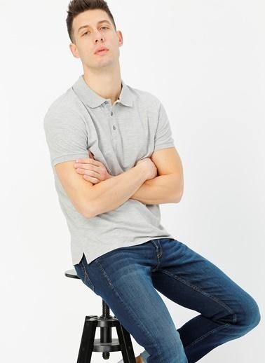 Limon Company Polo Tişört Gri